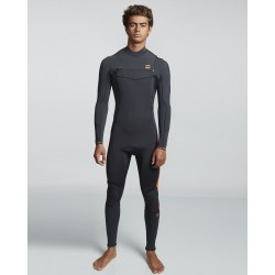 FATO DE SURF BILLABONG 4.3MM FURNACE ABSOLUTE BLACK SANDS
