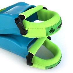 FIN PAD DELUXE HUBBOARDS LIME GREEN