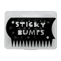 WAX BOX STICKY BUMPS CLEAR/BLACK