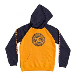 SWEAT DC BOYS CIRCLE STAR ORANGE POPSICLE/BLACK