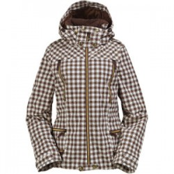 CASACO ELEVATION CHESTNUT GINGHAM BURTON