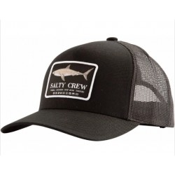BONÉ SALTY CREW FARALLON RETRO TRUCKER BLACK