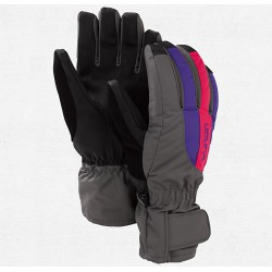 LUVAS PROFILE UNDER GLOVE HEATHERS COLORBLOCK BURTON