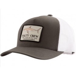 BONÉ SALTY CREW FARALLON RETRO TRUCKER CHARCOAL WHITE