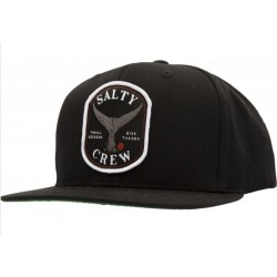 BONÉ SALTY CREW FISHSTONE 5 PANEL BLACK