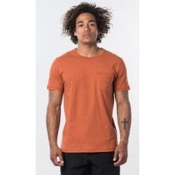 T-SHIRT RIP CURL ECO CRAFT TERRACOTTA