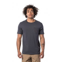 T-SHIRT RIP CURL ECO CRAFT WASHED BLACK