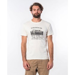 T-SHIRT RIP CURL TUC TUC OFF WHITE