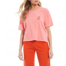 T-SHIRT BILLABONG SO MUCH ALHOA BEACH BAZAAR GYPSY PINK