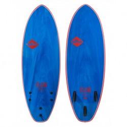 "PRANCHA DE SURF SOFTECH 5`7"" FLASH ERIC GEISELMAN FCSII BLUE MARBLE"