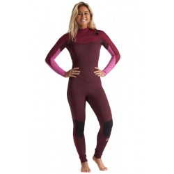 FATO DE SURF BILLABONG 3.2MM FURNACE SYNERGY CHEST ZIP GBS MAROON