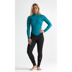 FATO DE SURF BILLABONG 4.3MM FURNACE SYNERGY CHEST ZIP GBS MERMAID
