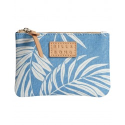 CARTEIRA BILLABONG TINY CASE BEACH BAZAAR SEA BLUE