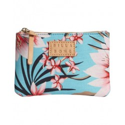 CARTEIRA BILLABONG TINY CASE BEACH BAZAAR SEA FOAM