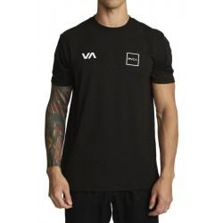 T-SHIRT RVCA RVCA LANE VA SPORT BLACK