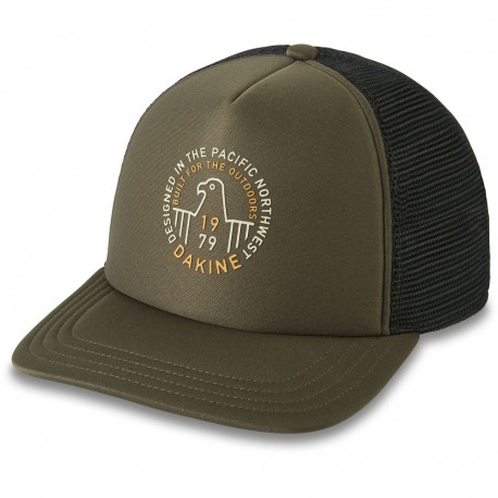 BONÉ DAKINE HARRIER TRUCKER DARK OLIVE