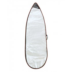 "CAPA OCEAN & EARTH BARRY BASIC 6'4"" SURFBOARD COVER RED"