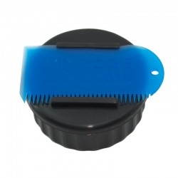 SEXWAX CONTAINER & COMB BLUE