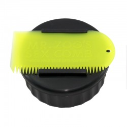 SEXWAX CONTAINER & COMB YELLOW