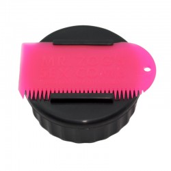 SEXWAX CONTAINER & COMB PINK