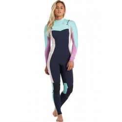 FATO DE SURF BILLABONG 4.3MM SYNERGY CZ NAVY
