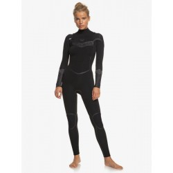 FATO DE SURF ROXY SYNCRO PLUS 4.3MM CZ BLACK/BLACK