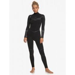 FATO DE SURF ROXY SYNCRO PLUS 4.3MM CZ BLACK/BLACK
