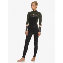 FATO DE SURF ROXY SYNCRO PLUS 4.3MM CZ BLACK/DARK IVY/SUNSET GLOW