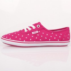 VANS CEDAR HEART VERY BERRY WHITE VANS