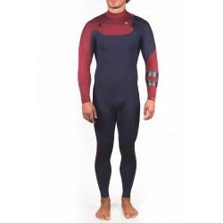 FATO DE SURF HURLEY ADVANTAGE 4.3MM FULLSUIT OBSIDIAN