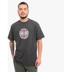 T-SHIRT INDEPENDENT TRUCK CO. CHARCOAL HEATHER