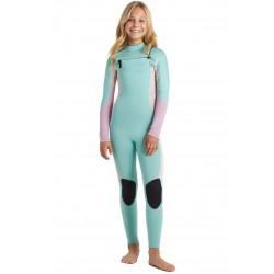FATO DE SURF BILLABONG 4.3MM GIRL SYNERGY CZ ICE