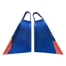PÉS DE PATO HUBBOARDS AIR HUBB CUT BLUE/ORANGE