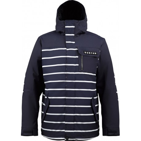 POACHER BALLPOINT NAUTICAL STRIPE JACKET BURTON