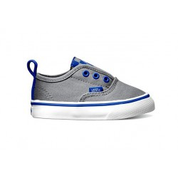 VANS AUTHENTIC V (CHECKERBOARD) FROST GRAY DEEP ULTRAMARINE