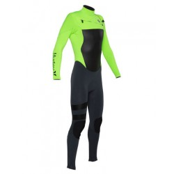 HURLEY FUSION 302 FULL SUIT VALIENT RED