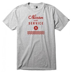 NIXON SERVICE HEATHER GRAY