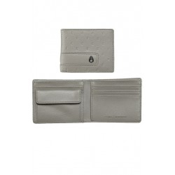 NIXON SHOWOUT BI-FOLD SNAO COIN GRAY WALLET