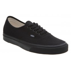 AUTHENTIC BLACK BLACK VANS