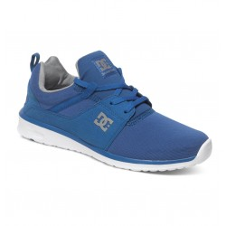 DC HEATHROW LOW TOP BLUE GREY