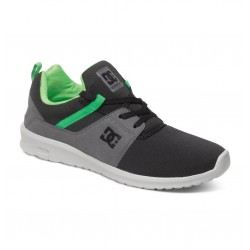DC HEATHROW LOW TOP BLACK / GREY / GREEN