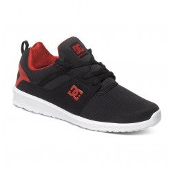 DC HEATHROW LOW TOP BLACK / RED