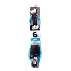 "OCEAN & EARTH COMP 6'0"" LEASH BLUE"