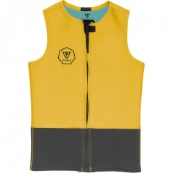 VISSLA FRONT ZIP VEST 2MM GOLD
