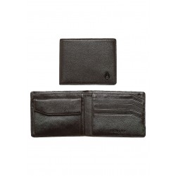 NIXON ARC BI-FOLD WALLET ALL BROWN