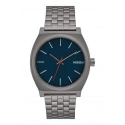 RELÓGIO NIXON TIME TELLER ALL GUNMETAL DARK BLUE