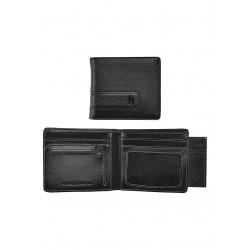 CARTEIRA NIXON SHOWTIME BI-FOLD ID ZIP ALL BLACK