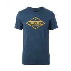 T-SHIRT RIP CURL UNDERTOW DIAMOND TEE MOOD INDIGO MAR