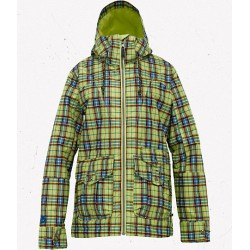 METHOD JACKET ALOE GYPSY PLAID BURTON