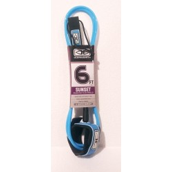 "LEASH OCEAN & EARTH SUNSET 6'0"" MOULDED BLUE"